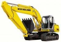 Запчасти для экскаваторов New Holland