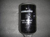 203-01-K1280 фильтр топливный Komatsu WB93R-5, WB93S-5, WB97S-5