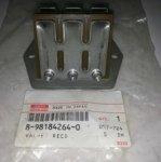 8981842640 клапан лепестковый, заслонка EGR ISUZU 4HK1, 6HK1