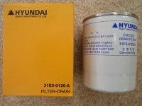 31E9-0126 Фильтр гидравлический линейный Hyundai R450LC-7