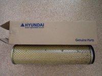 Фильтр воздушный экскаватора Hyundai 11EM-21051