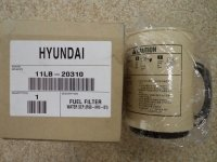 11LB-20310 Фильтр топливный грубой очистки Hyundai R450LC-7