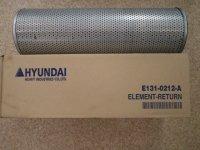 E131-0212 Фильтр гидравлический Hyundai R170W