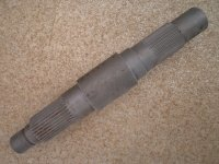 Вал-ступица П1.01.03.016-1 погрузчика ПУМ-500