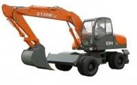 Экскаватор колесный E130W