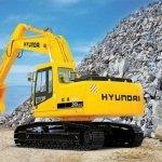 Запчасти на экскаватор Hyundai (Хундай) R250LC-7
