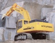 Запчасти на экскаватор Hyundai (Хундай) R450LC-7, R450LC-7A
